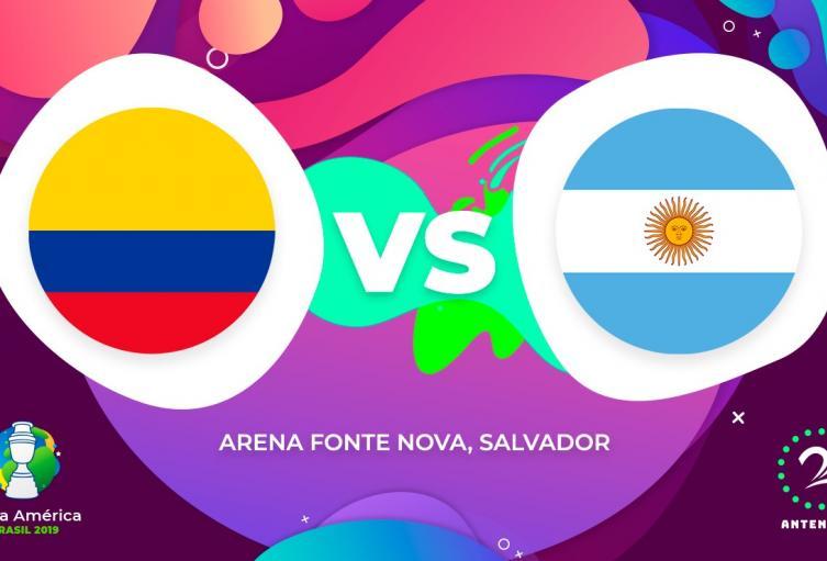 Argentina vs Colombia - Copa América