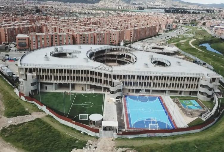 Nuevo colegios entregado en la localidad de Bosa, en Bogotá