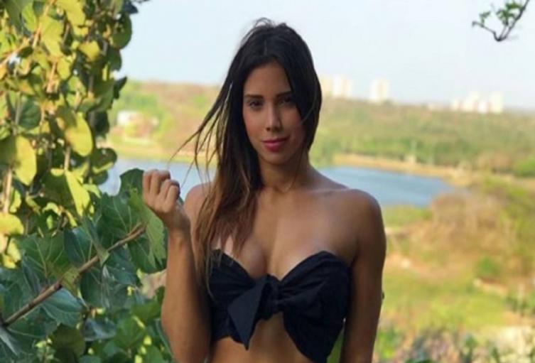 María Fernanda Aguilar, modelo
