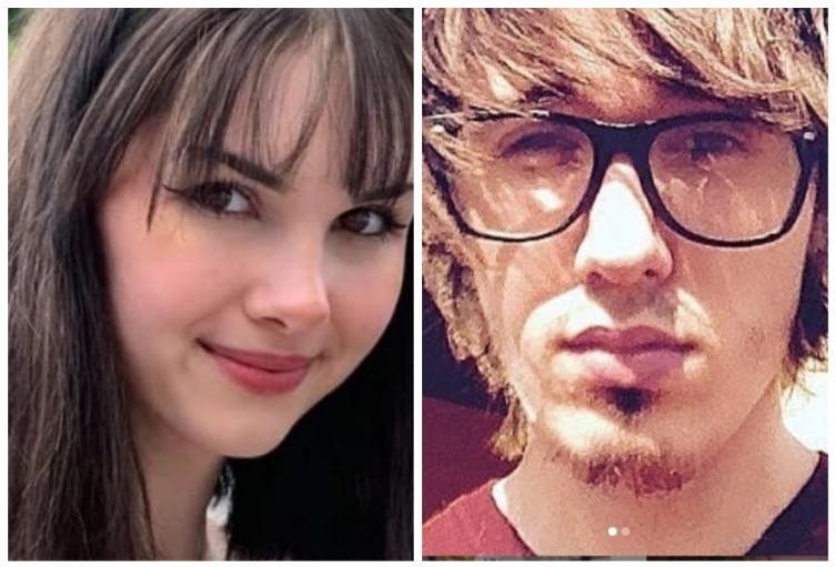 Bianca Devins y Brandon Clark