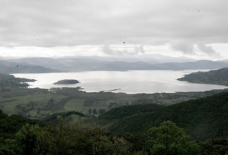 Laguna La Cocha en Pasto