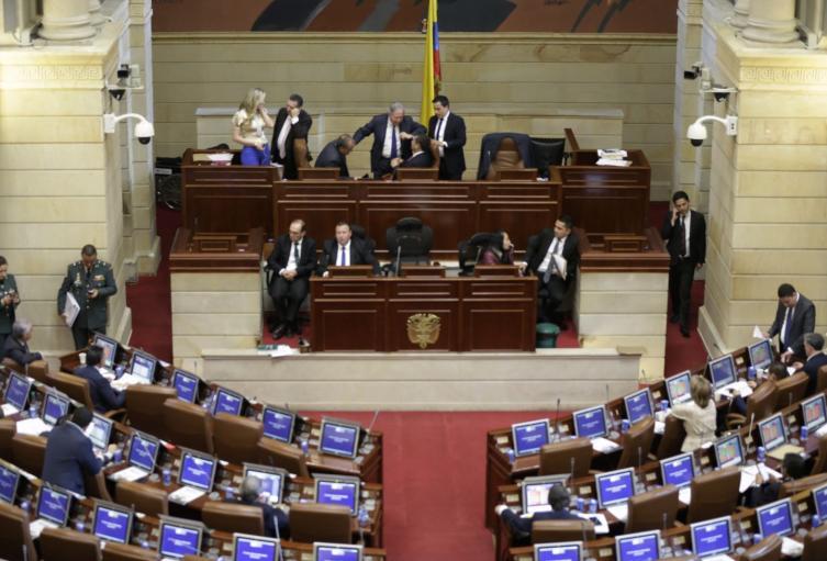 El Congreso de la República.
