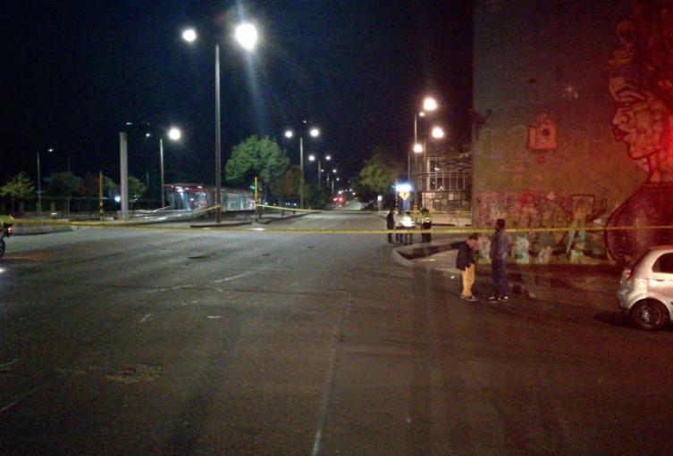 Asesinato de policía al norte de Bogotá