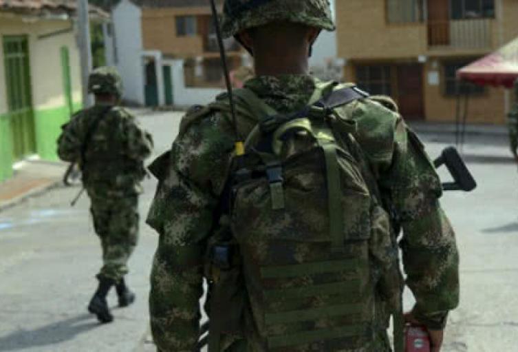 Militar soldado