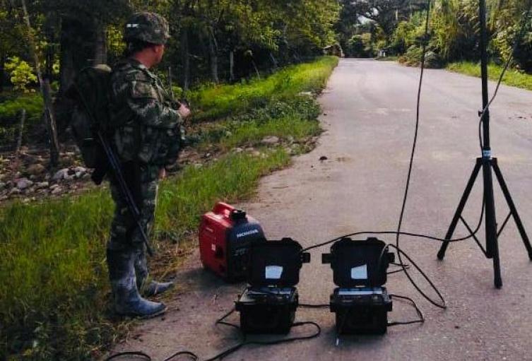 Ejercito desactivó explosivos en Arauca