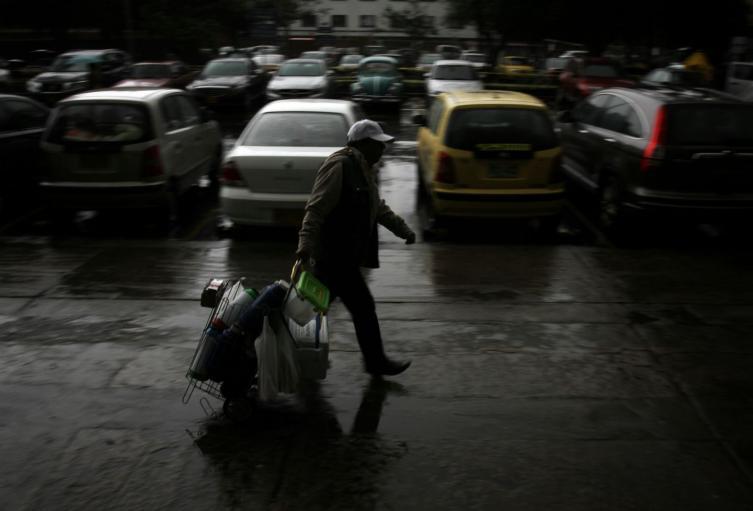 Por estos días hay una sensación de intenso frío en Bogotá.
