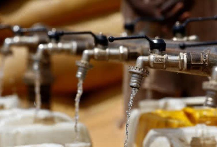 Cortes de agua. Imagen de referencia.
