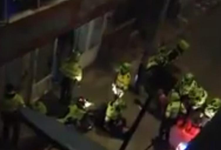 Policía de Bogotá en Suba