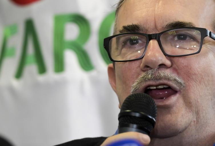 Rodrigo Londoño (Timochenko), jefe del partido Farc
