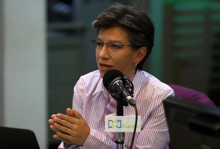 Claudia Lopez en RCN Radio. Imagen de archivo