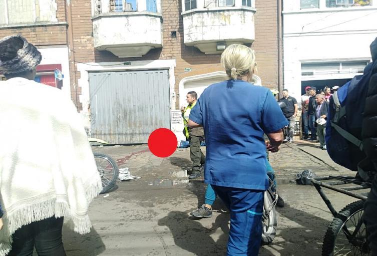 Asesinato en el centro de Bogotá