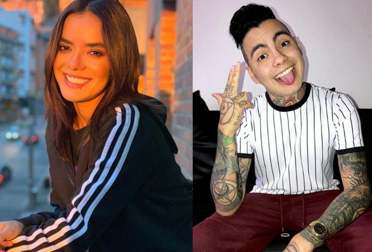 El youtuber lanzó fuertes comentarios contra la presentadora, luego de algunas opiniones que ella dio respecto a las conductas que ha tenido él públicamente.