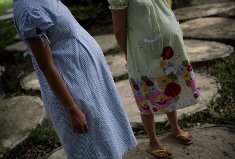 Menores de edad embarazadas