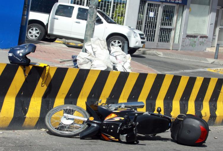 Accidente de moto / imagen de referencia