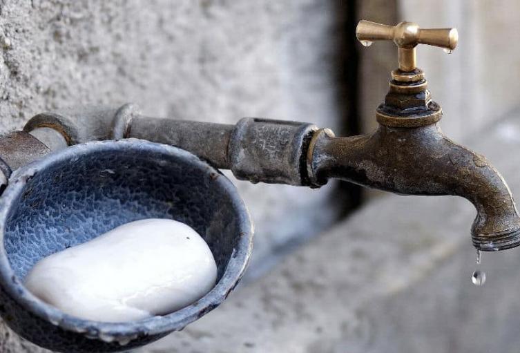 Corte de agua en Bogotá