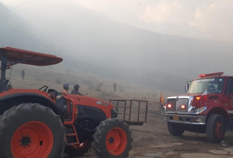Incendio en Soacha, Cundinamarca