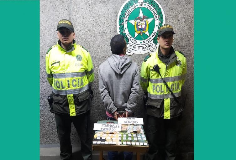 Traficante de cocaína en Chapinero.