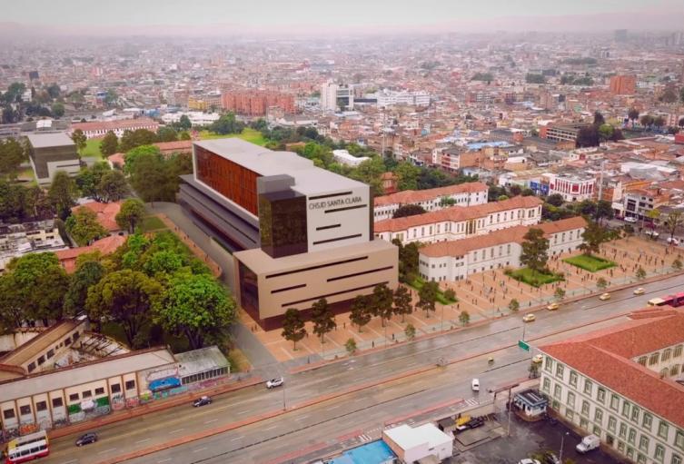 Nuevo hospital Santa Clara de Bogotá