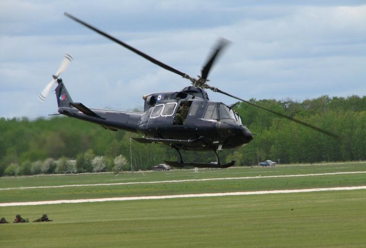 Aeronave Bell 412.