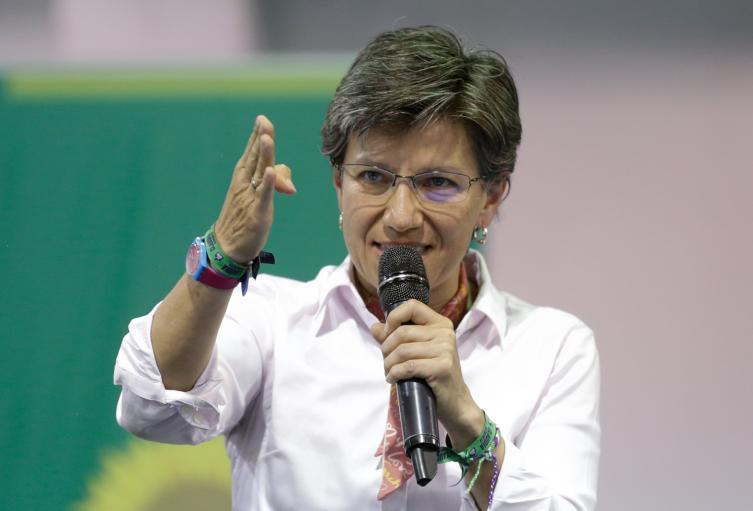 Claudia López, alcaldesa de Bogotá