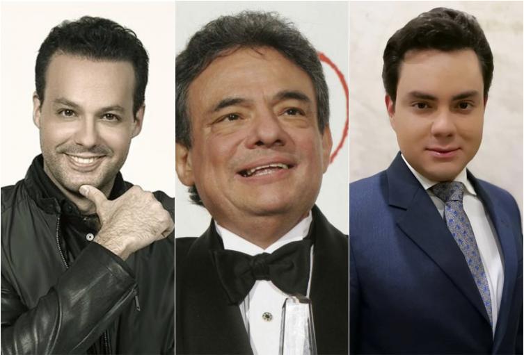 Jose Joel, José José y Manuel José