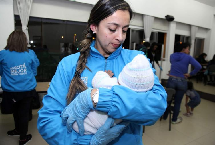 Operativos contra la mendicidad infantil