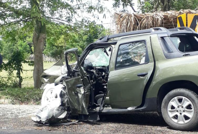 Accidente del padre de Claudia Bahamón, Germán Bahamón