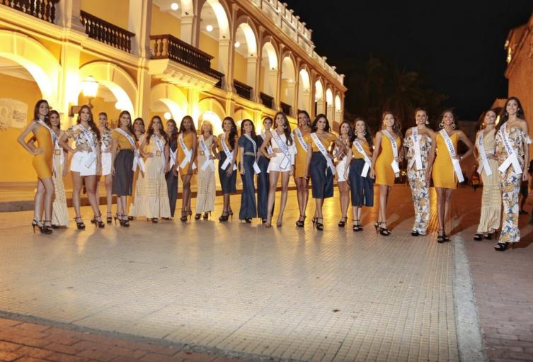 Candidatas a Señorita Colombia