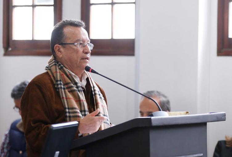 El concejal Jorge Durán Silva.