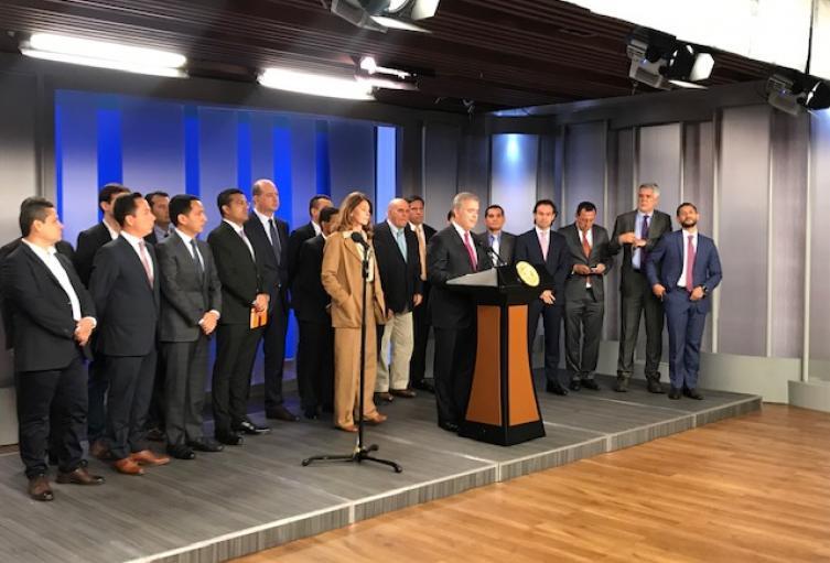 Presidente Iván Duque reunión alcaldes ciudades capitales
