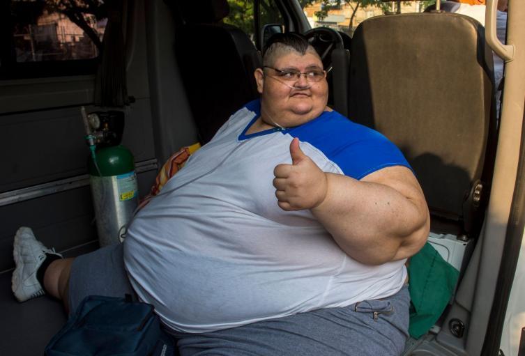 Juan Pedro Franco se ha enfocado en mantener el régimen médico y alimenticio que le ha hecho perder 334 kilos.