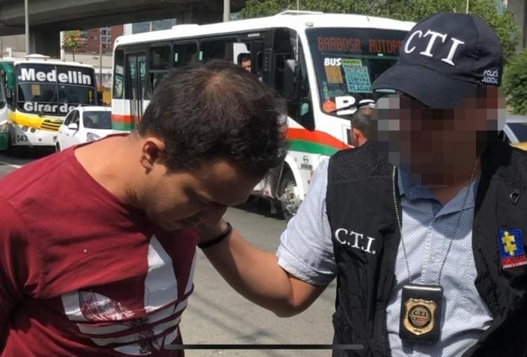 Julián David Arboleda Chaverra, capturado por presunta extorsión