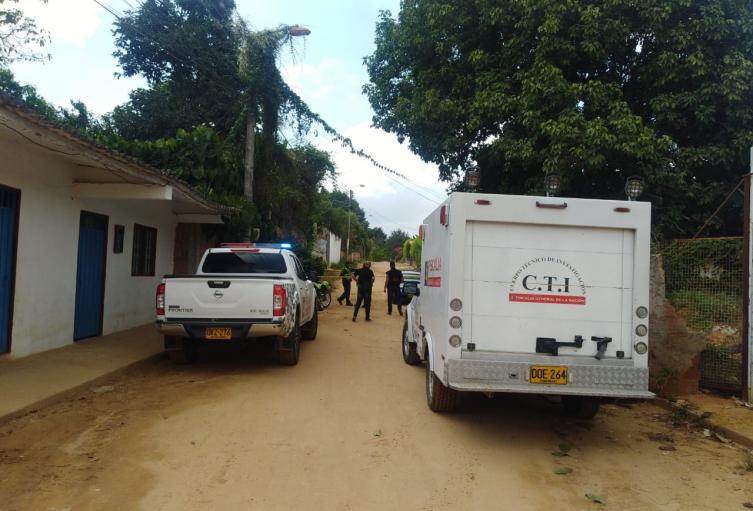 Este hecho que se presentó en la vereda Acapulco dejó dos personas capturadas