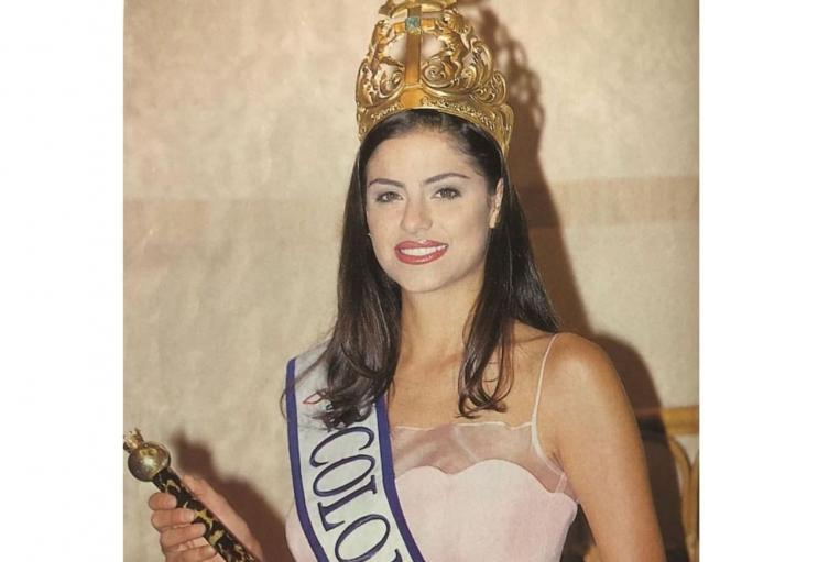 Catalina Acosta exrenia de Colombia