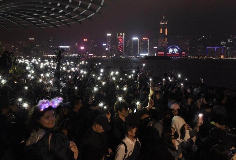 Año Nuevo en Hong Kong