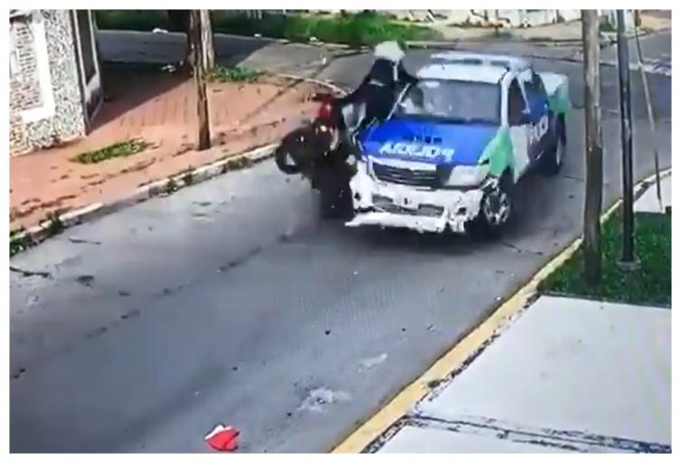 Accidente de ladrones Argentina