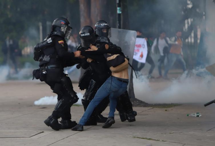 Comenzaron los disturbios en la Universidad Nacional