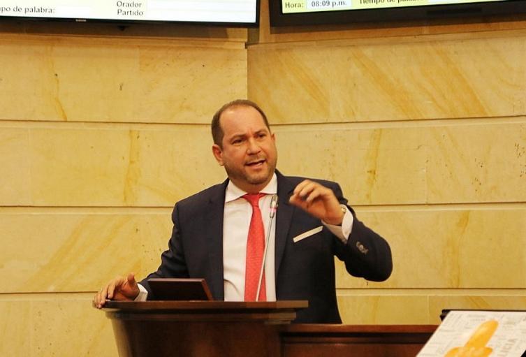 Presidente del Congreso, Lidio García