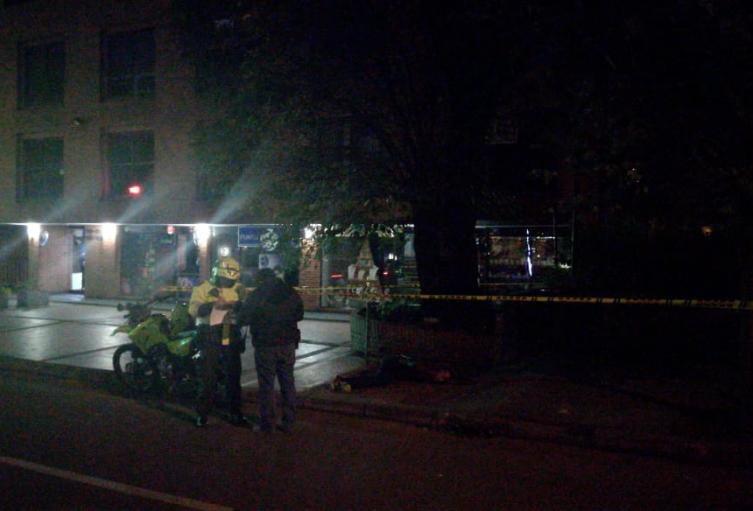Investigan asesinato de ciudadano francés en el norte de Bogotá.