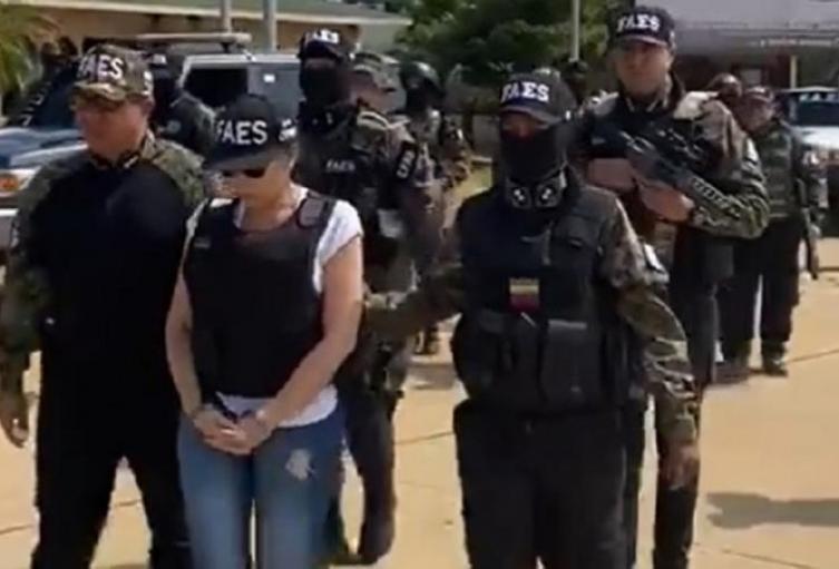 Recaptura de Aida Merlano en Venezuela
