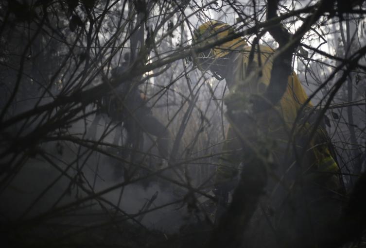 Incendio Forestal en Bogotá