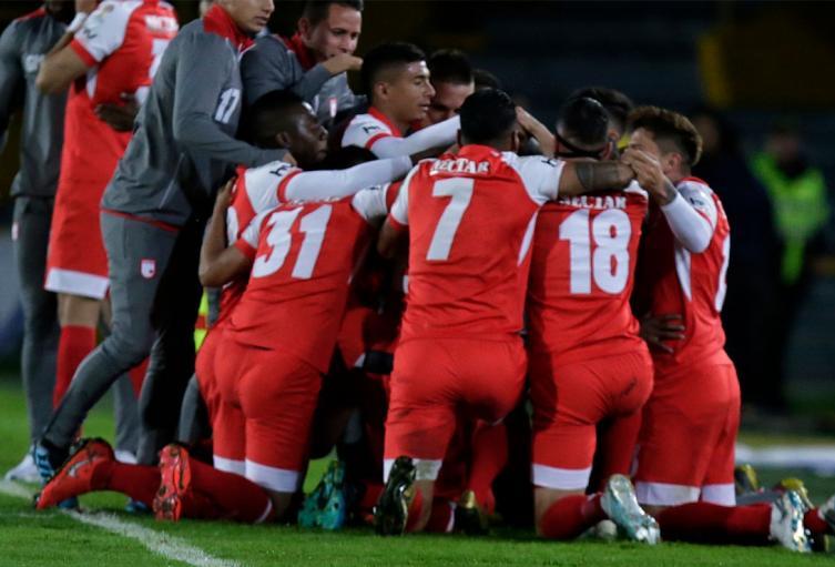 Independiente Santa Fe y Edwin Herrera