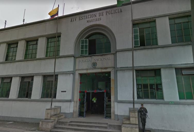 Estación de Policía de Los Mártires