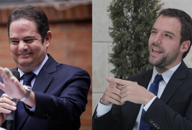 Germán Vargas Lleras y Luis Ernesto Gómez