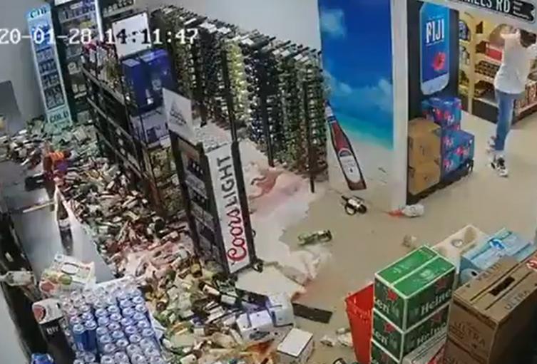 Temblor en el caribe