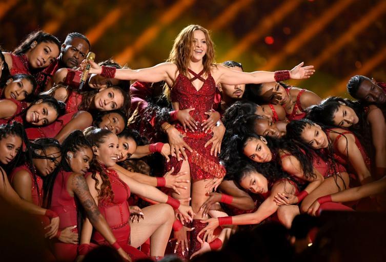 Gesto de Shakira en el Super Bowl