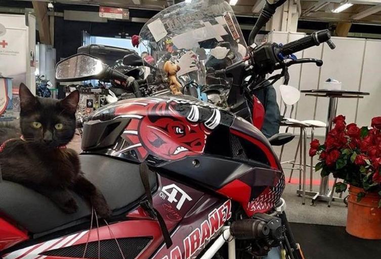 Moto robada en Bogotá