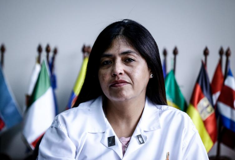Directora de Medicina Legal, Claudia Adriana García.
