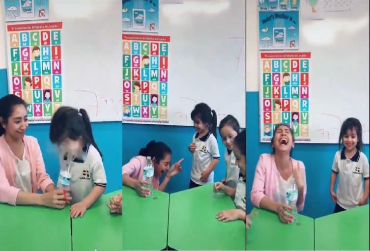 Profesora le hizo una broma a una niña y la echaron