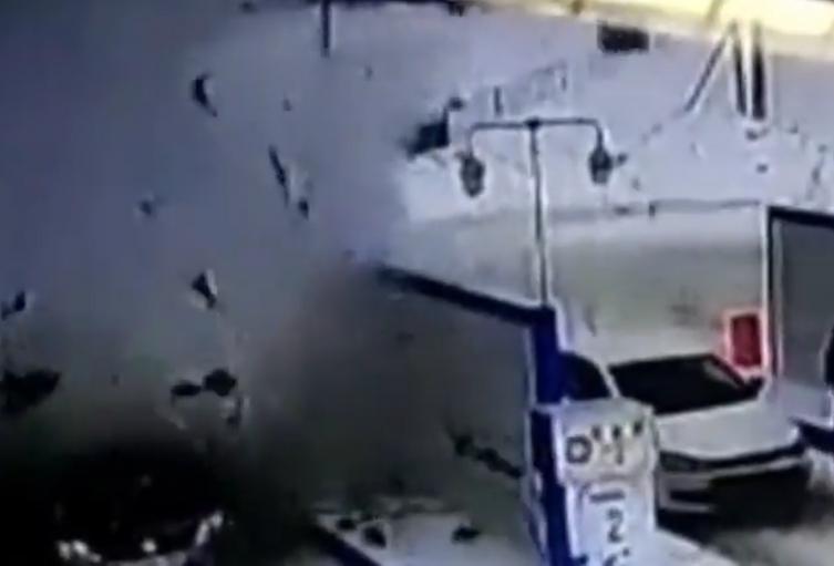 Explosión de carro